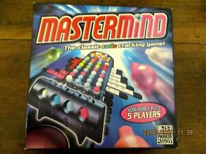 ~MASTERMIND - THE CLASSIC CODE CRACKING GAME - 5 PLAYERS - COMPLETE - VGC~