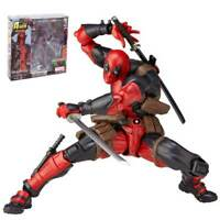 Marvel Legends X-men No.001 DEADPOOL Action Figure Revoltech Kaiyodo Toy Gift AU