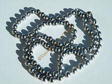 Collier Chaine Longue 60 cm 100% Acier Inox Boules 5 mm