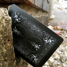 Bicycle Shadow Masters BLACK Deck of Playing Cards by Ellusionist, New.
