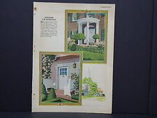 Houses, Homes, American Builder c.1927, One Double Sided Print #03