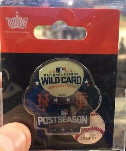 2016 NEW YORK METS SAN FRANCISCO GIANTS WILD CARD PIN THOR CESEPES RARE 10/5