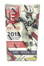 2018 Panini Elite Draft Picks Football Hobby Box - 5 Autograph Cards (avg)