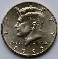 1995 P Kennedy Half Dollar Choie BU Condition US Coin