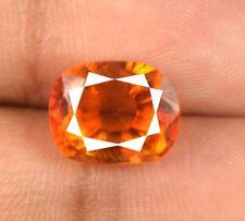 Orange Oregon Sunstone 100% Natural Oval Gemstone 7.35 Ct AGI Certified H7184
