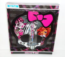 """Monster High Deluxe 13"""" Skull Wall Clock; Battery Operated; New!"""