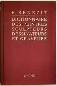 E. BENEZIT. Dictionnaire des peintres...nouvelle edition..14 VOLUMI - GRUND 1999