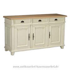 Sideboard,Anrichte,Apothekerschrank,Halbschrank,Holz,Landhaus,Shabby chic,weiß