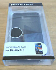 Samsung Galaxy S2 II Black Silicone Case