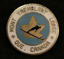 MT TREMBLANT LODGE Skiing SKI Pin Calgary Alberta Banff CANADA Resort Travel