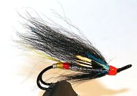 Salmon Fly,Night Hawk, Double Hook.(3-pack) Pick a size. Fly Fishing Fly
