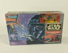 Vintage 1996 Micro Machines Star Wars TIE Fighter Pilot Academy Playset
