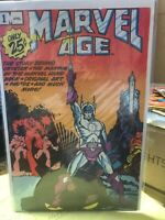 marvel age 1 NM- 1ST ISSUE ..25 CENT FIRST ISSUE OF MARVEL AGE ..