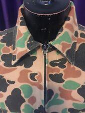 Vintage mens deer skin hunting jacket jkt