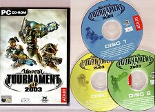 UNREAL TOURNAMENT 2003. SUPERB FIRST PERSON SHOOTER FOR THE PC!!