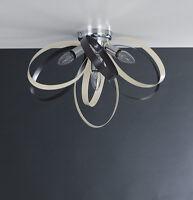 Plafoniera lampadario moderno cromato colorato COLORI COMBINABILI A PIACERE