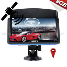 XGODY 7'' SAT NAV GPS Navigation System + Lifetime 3D Maps + Sunshade 8GB FM MP3