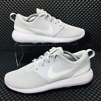 Nike Roshe Golf Men's Athletic Shoes Grey White Sneakers