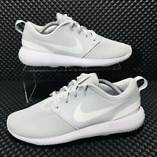 Nike Roshe Golf Men's Athletic Shoes Grey White Sneakers