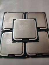 Lot of 5 - Intel Core 2 Duo E8500 Processors 3.16GHz Dual-Core - SLB9K