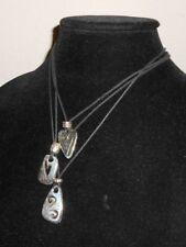 BRIGHTON Brazilian 3 Three Hearts Cord Necklace Excellent