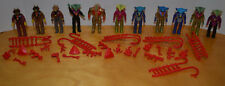 VINTAGE DINO RIDERS LOT OF 12 RULON ACTION FIGURES WITH ACCESSORIES WEAPONS TYCO