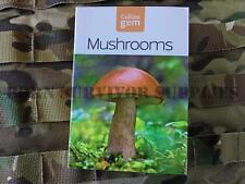 Funghi guida-NUOVO Collins Gem Bushcraft Tasca funghi LIBRO procacciarsi cibo Gratis