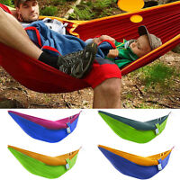 Nylon Hammock Outdoor Parachute Travel Camping Garden Picnic Sleeping Hang Bed