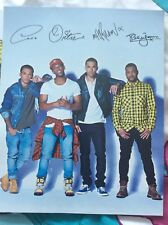JLS signed Photos - 5 Posters *** JLS *** SIGNED JLS