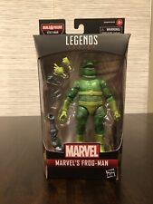 """Marvel Legends FROG-MAN 6"""" Action Figure Stilt-Man BAF (Build-A-Figure) NEW!!"""