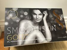 SMOOTHSKIN GOLD IPL PERMANENT HAIR REDUCTION FACE & BODY ipluse New