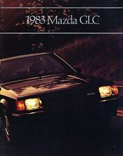 1982 Mazda GLC 26-page Original Car Sales Brochure Catalog - Hatchback Sedan