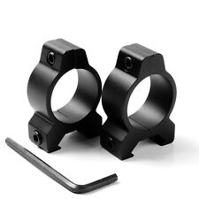 """TCB0105 1"""" 25.4mm SCOPE Ring Mount Fit FOR 20mm Rail Low Profile"""