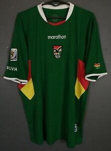 MEN'S BOLIVIA NATIONAL 2005/2006 SOCCER FOOTBALL SHIRT JERSEY MAILLOT SIZE L
