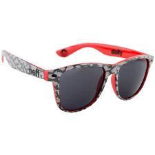 704bc5a3c2726 Gafas de sol de marco de plástico de camuflaje para hombres