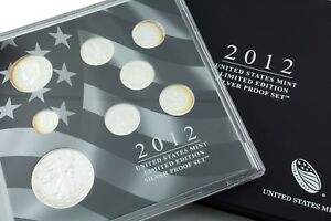2012 United States Mint Limited Edition Silver Proof Set Original Mint Package