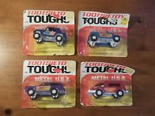 1970 VINTAGE LOT OF 4 TOOTSIETOY TOUGHS TRUCKS DIE CAST Strombecker JEEPSTER,VAN