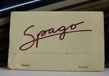 Spago Restaurant Wolfgang Puck Sunset Strip Los Angeles Ashtray