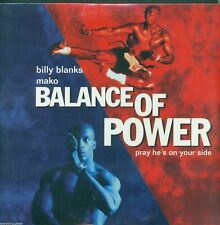 Balance Of Power Laser Disc Movie SEALED -- Starring Billy Blanks & Mako
