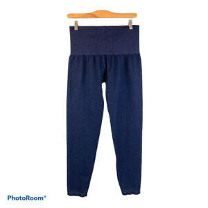 ASSETS SPANX High Waist Capri Shaping Shapewear Blue Leggings 1X