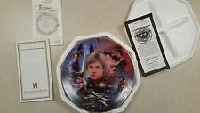 Hamilton Collection Star Wars Heroes And Villains Luke Skywalker Plate *Mint*
