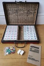 MAH-JONG Chinese Game Of Four Winds In Carry Case