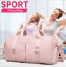Gym Reisetasche Fitnesstasche Damen Herren Sporttasche Sport Schule Tasche Bag