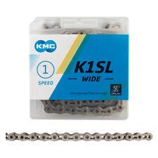 CHAIN KMC K1SL WIDE 1/2x1/8 Chain SILVER