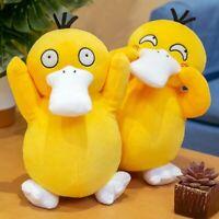 30-55Cm Psyduck Pokémon Plush Toys Soft Stuffed Doll Bag Strap Braccia Risers
