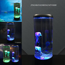 7 Color Changing LED Jellyfish Lamp Aquarium Bedside Night Atmosphere Mood Light