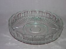 Vintage Large Clear Glass Round Shape Bowl Serving Candy Dish Depression