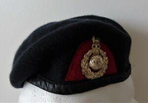 Royal Marines Recruit Beret & Cap Badge
