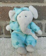 Little Jellycat Baby Starry Nights Elephant Plush Green Gray Toy Pajamas