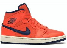 Jordan 1 Mid Turf Orange Blue Void (W) CD7240-804 SHOES WOMEN SIZE